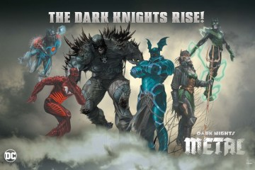 Evil Batmen of the Dark Multiverse Dark Metal