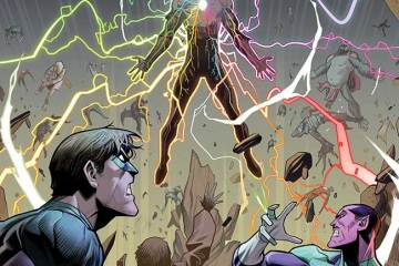 Planet of the Apes/Green Lantern #6