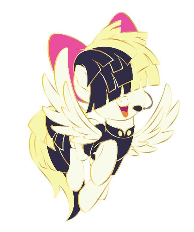 Sia-Pony-Pin