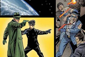 Green Hornet '66 meets The Spirit #2
