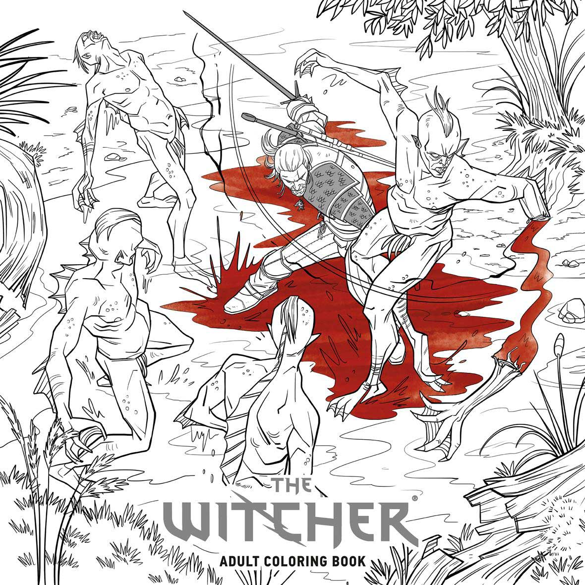 solicitations dark horse announces the witcher coloring