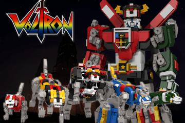 LEGO Ideas Voltron