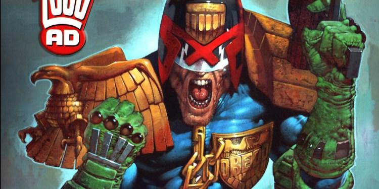 Judge Dredd 2000 AD New York Comic Con