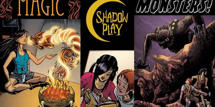 Wayne Hall, Wayne's Comics, all-ages, Shadow Play, Bard, Joy, Kickstarter, Stabbity Bunny, Gateway City, Shadow Realm,