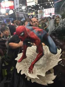 Sideshow Collectibles Spider-Man Silk Statue New York Comic Con