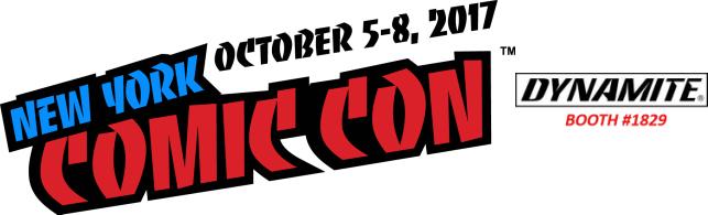 Dynamite Entertainment at New York Comic Con 2017