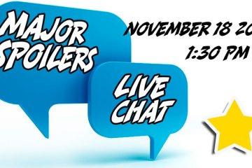 VIP Live Chat November 2017