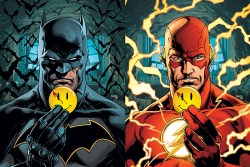 DC Comics, Marvel, Alterna, X-Men, mutant, Doomsday Clock, Geoff Johns, Gary Frank, Batman, Flash, Button, lenticular, cover,
