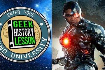 Geek History Lesson Cyborg DC Comics Teen Titans Justice League