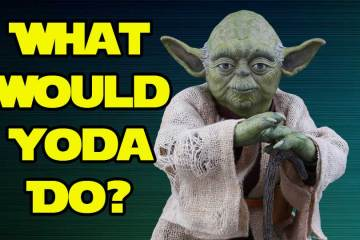 What Would Yoda Do? Star Wars The Last Jedi Darth Vader Dr. Brad Will