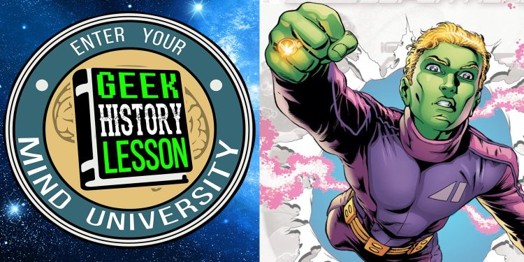 Geek History Lesson Brainiac 5 Supergirl Major Spoilers Podcast Legion of Super-Heroes