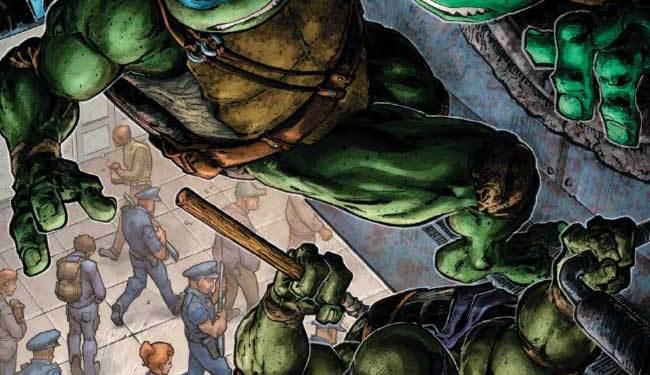Teenage Mutant Ninja Turtles Universe #18