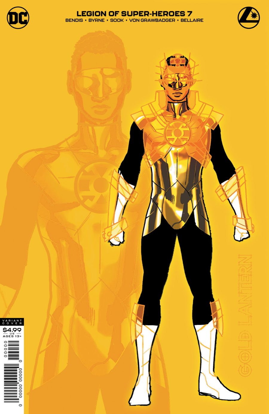 The Gold Lantern shines in new Legion of Super-Heroes variant ...