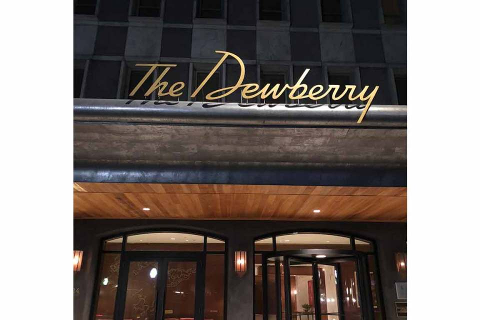 what to eat in charleston the dewberry