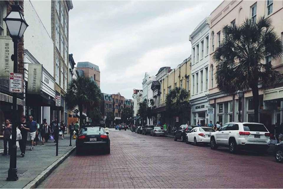 Long weekend in Charleston King Street