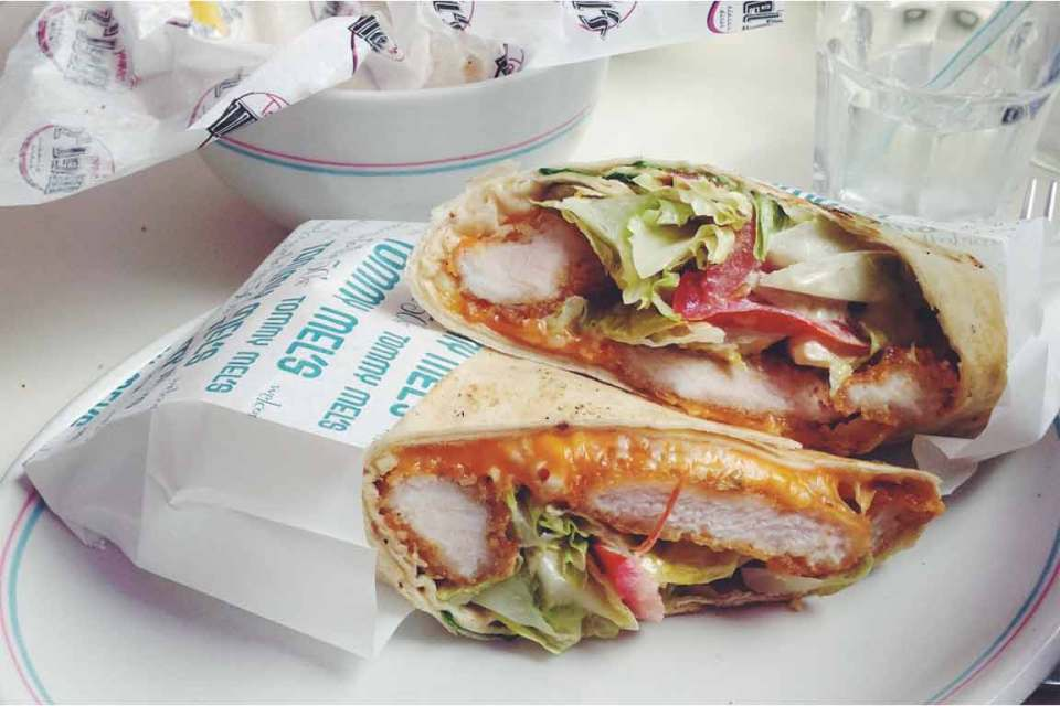 what to eat in spain sandwich