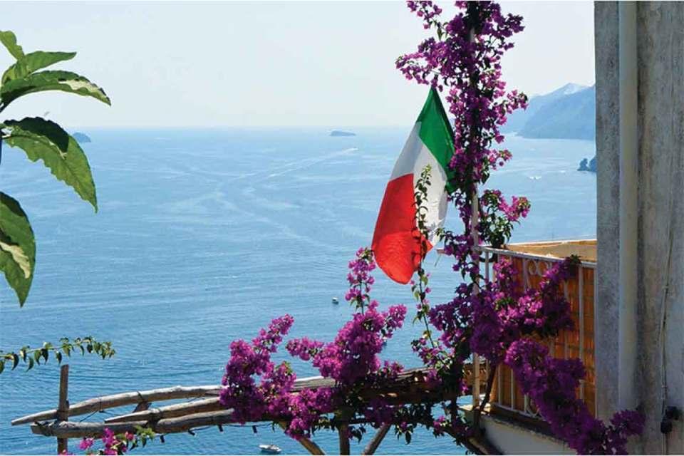 Path of Gods Italy Flag