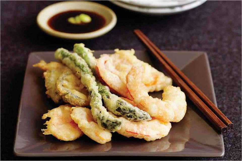 Eating in Tokyo Tempura