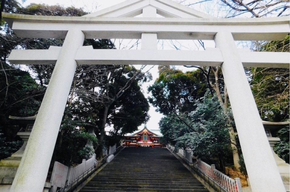 Hie Shrine near Tokyo Imperial Palace