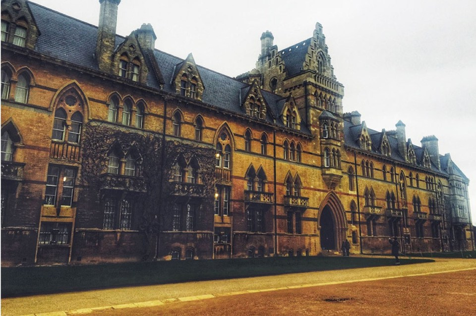 Christ Church Best things to do in Oxford England