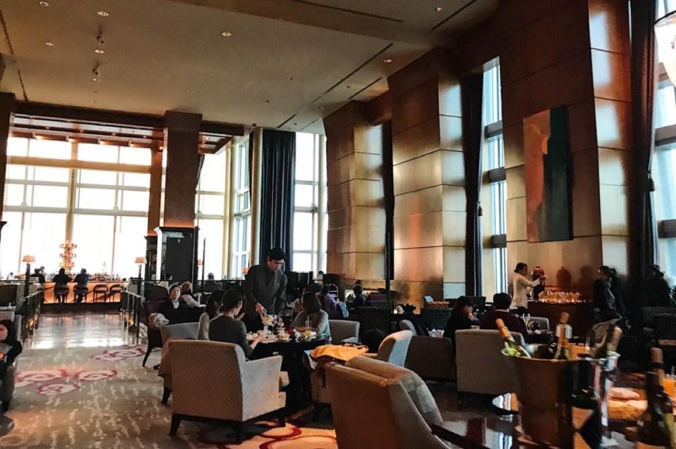 Lobby Ritz Carlton Tokyo