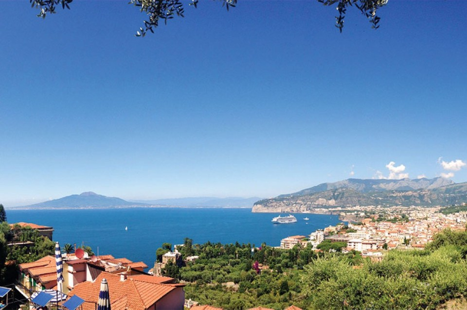 View from Grand Hotel Capodimonte