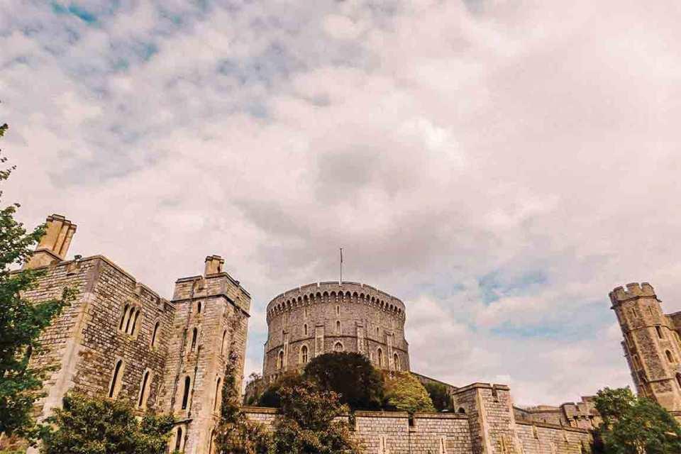 windsor castle facade