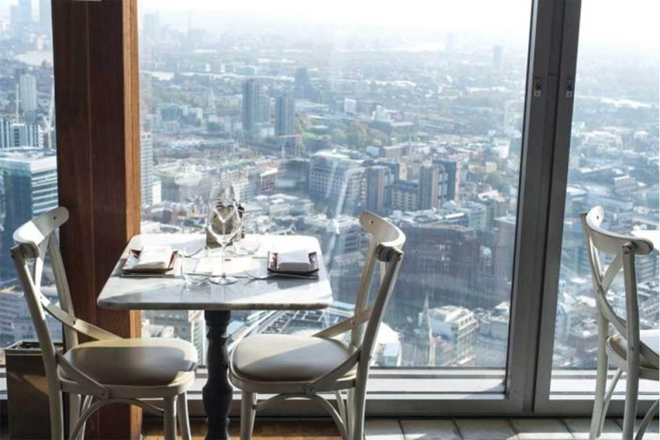 Duck & Waffle Top 5 Breakfast Spots in London