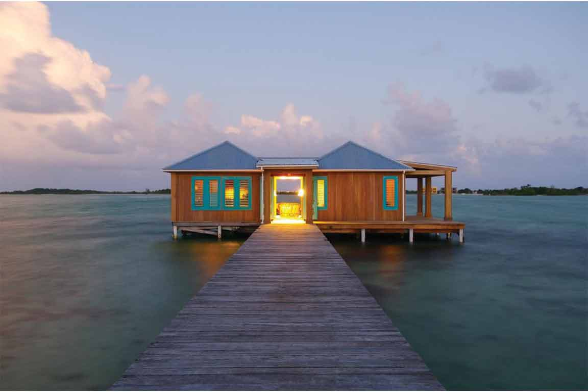 remote island honeymoon belize