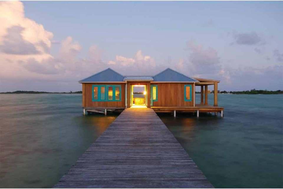 remote island honeymoon belize