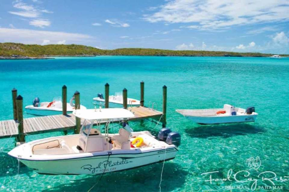 all-inclusive honeymoon fowl cay