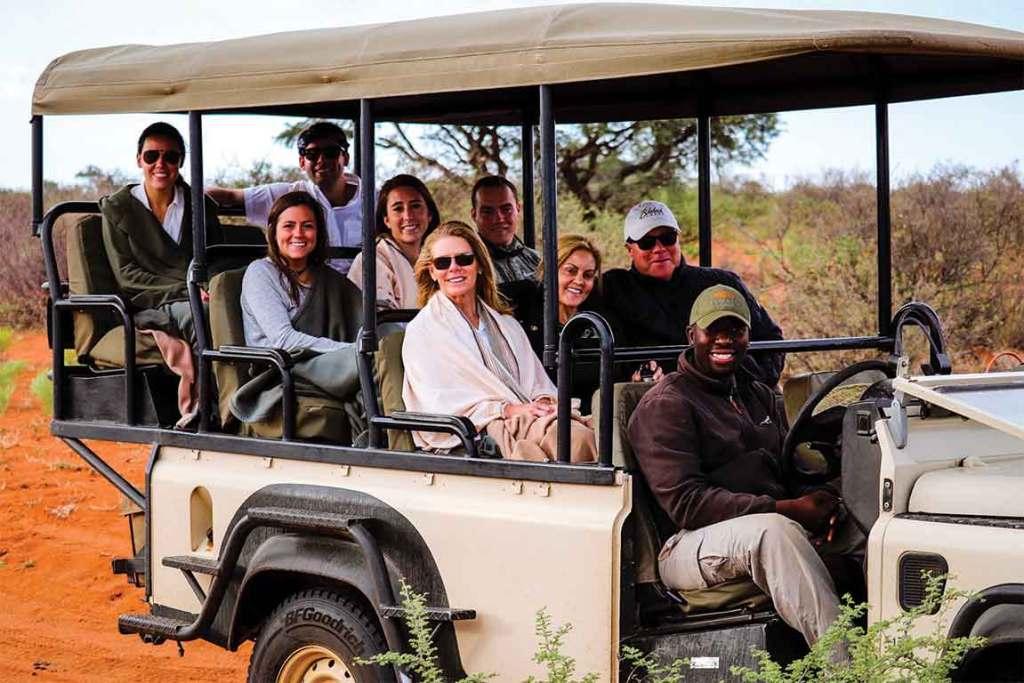 Tswalu Kalahari Safari Vehicle