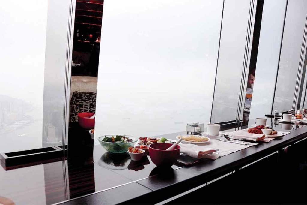Ritz Carlton Hong Kong Breakfast