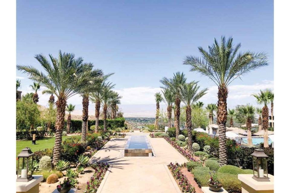 Views from the Ritz Carlton Rancho Mirage