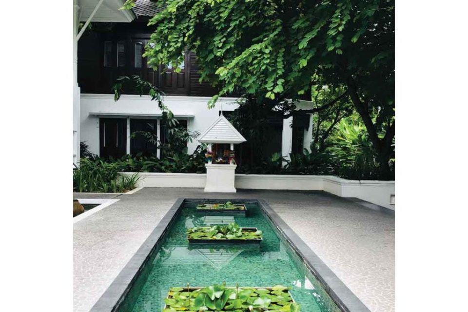 137 Pillars House Chiang Mai entrance
