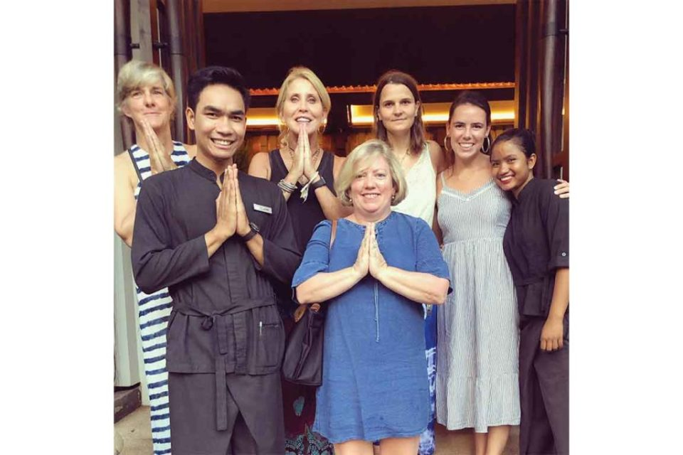 the staff at jaya house river park in siem reap cambodia