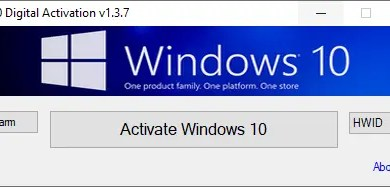 Photo of Windows 10 Digital Activation v1.3.7 [Full] โปรแกรมทำ Windows 10 แท้