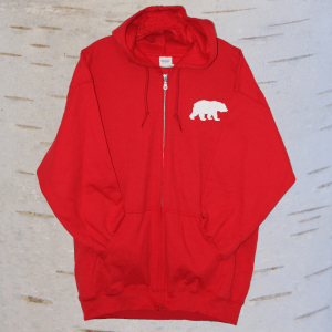 image of seven teachings bear hoodie