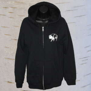image of seven teachings buffalo hoodie
