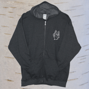 image of seven teachings wolf hoodie