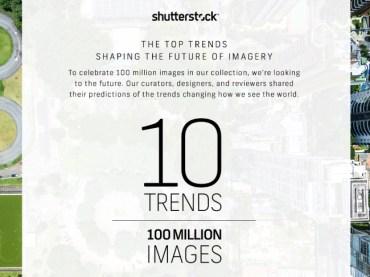 แนะนำ 10 เทรนด์มาแน่ปีหน้าโดย Shutterstock