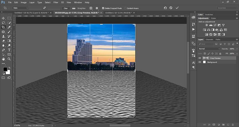 water-refletion-by-photoshop-12-crop-texture-layer