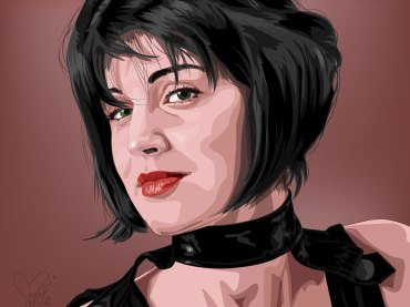 Illustration-Portrait-Vector-from-Illustrator-Program