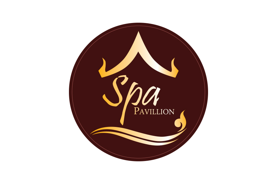 ออกแบบโลโก้ สำหรับร้านสปาและนวดแผนไทย Spa pavillion