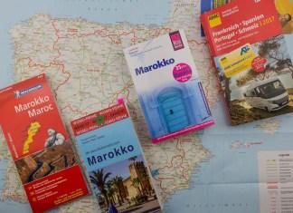 Die 5 besten Reiseführer und Karten für Marokko