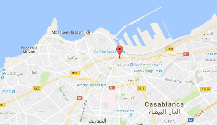 Mitten durch Casablanca