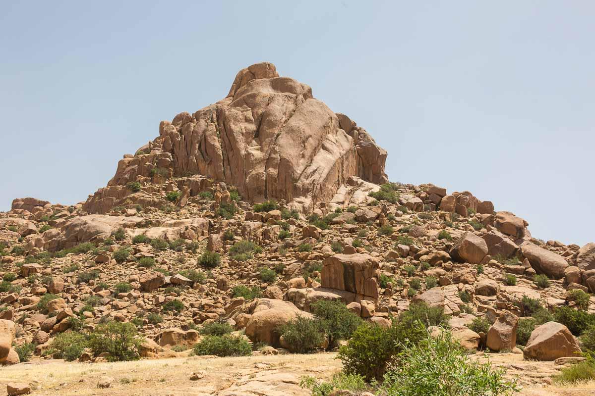 Der Hut Napoleons - so wird dieser Fels genannt