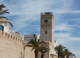 Der Uhrenturm von Essaouria
