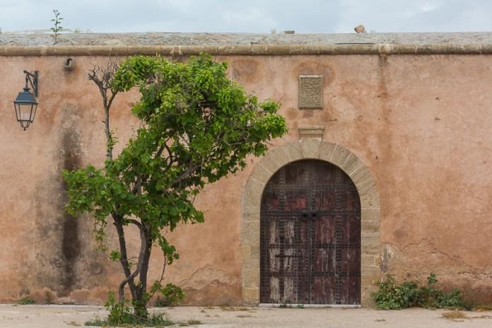 In der Kasbah von Rabat