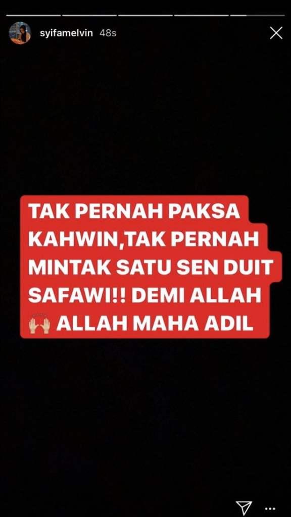 Isu 'Melvins', DYAM Tunku Ismail dan Safawi : Salah Siapa?